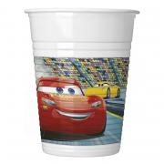 8 Cars 3 Plastikbecher 200ml