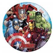 8 Mighty Avengers Pappteller 20cm
