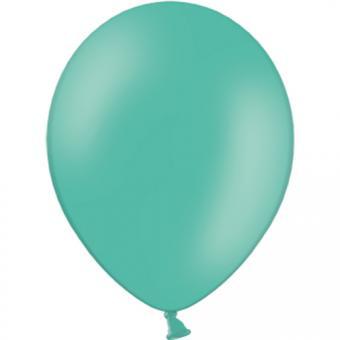 100 Latexballons Waldgrün Pastell 30/33cmø