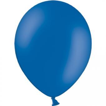 100 Latexballons ø30cm Royalblau Pastell