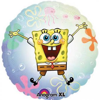 Folienballon Sponge Bob See Thru ø50cm N