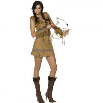 Sexy Pocahontas Damenkostüm M