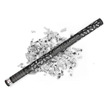 Konfetti-Shooter Silber-Glanz 80cm