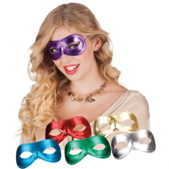 Glitzer-Party Maske
