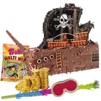 Pinata-Set Piratenschiff