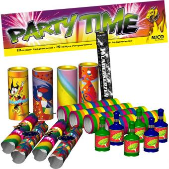 Partyset Party Time Jugendfrei 19 teilig