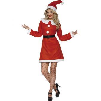 Sexy Nikola Weihnachtsfrau Kostüm S