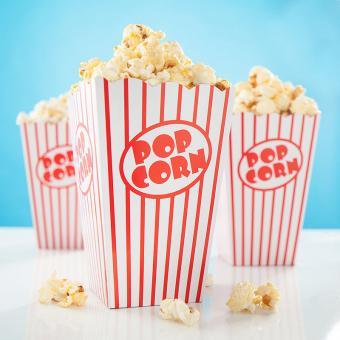 20 Popcorn-Boxen Retro Classic Large