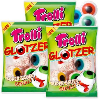 12 saure Fruchtgummi Glotzer 225g