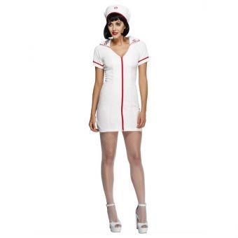 Sexy Krankenschwester Damenkostüm S