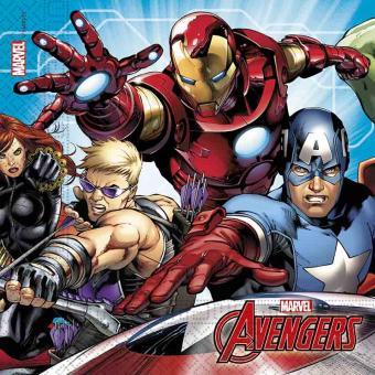 20 Mighty Avengers Servietten 33cm